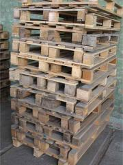 Pallet 1200х800 with a loading capacity up to 500
