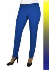 Женские брюки молодежные 338 Костюмка
