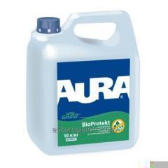 Укрепляющая антиплесневая грунтовка Aura Unigrund Bioprotekt 10л