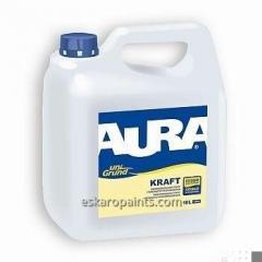 Универсальный укрепляющий грунт глубокого проникновения Aura Unigrund Kraft 10л