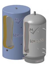 Буферная емкость БЕМ-1-500 из углеродистой стали.