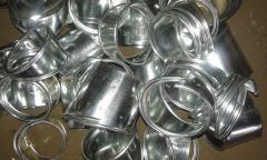 Отвод 4-х сегментный из стали оцинкованной 0,5мм 42/50