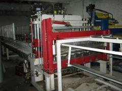 Автоматическая линия для производства металлочерепицы типа Jaspis (Ретро).