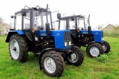 Колесный трактор БЕЛАРУС МТЗ 82.1 тягового класса,