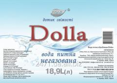 """Вода питна негазована """"Долла"""" 18,9л"""
