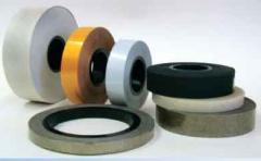 Tape semiconducting of PPL-1/3 fiber glass fabric