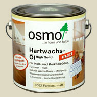 "Oil-wax for a parquet of ""Osm"