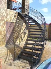 Лестница из металла Киев