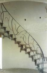 Ladder frameworks from metal