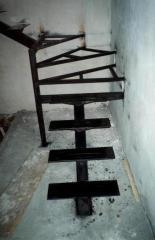Изготовление каркасов лестничных в Киеве