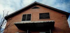 Металлическое ограждение на балкон