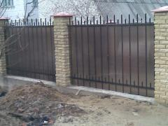 The forged fence Kiev