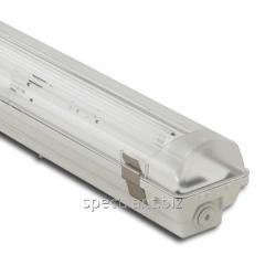 Светильник люминесцентный в/з ATOM 771 1х58W  IP67 ЭПРА с металлическими пряжками