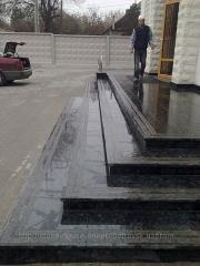 Гранитные плиты полированные 300x300x30