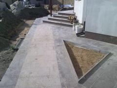 Гранит гранитные плиты 400x400x30 2074