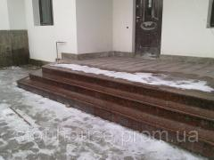 Granite 300x600x20 the polished Azerbaijan