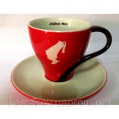 Чашка с блюдцем для чая JULIUS MEINL Джамбо - 250мл