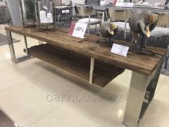 Конференц-столы массивные дубовые в стиле Лофт (Loft)