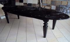 Мрамор  TOROS BLACK черный 30 мм 0701