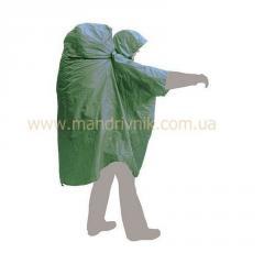 Плащ пончо Terra Poncho Bag (зеленый, S-M)