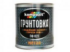 Антикоррозионная грунтовка для металлических...