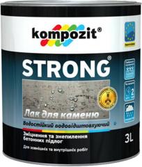 Primer/varnish on STRONG® stone
