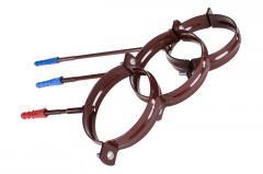 Держак труби Profil пласт. L220 100