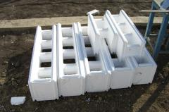 Thermoblocks for construction on technology the