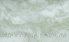 Мармур Green Pink Onyx 600x300x20 бело-розовая-зеленая