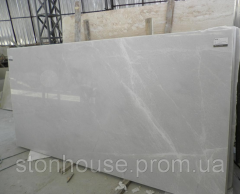 Камень Мрамор Mugla White бело-серый