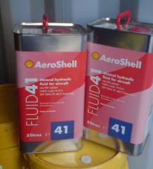 Минеральная гидравлическая жидкость Aeroshell Fluid 41