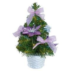 New year the Fir-tree in a flowerpot of 20 cm 8277
