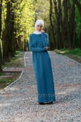 Dress basic turquoise