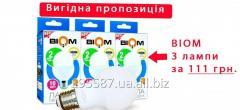 Набор светодиодных ламп Biom BT-510 A60 10W E27 4500К