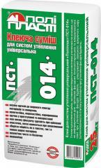 Tutkal karışım ısı yalıtımı (Evrensel) PSO-014 (25кг) için