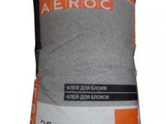 Клейова суміш СБС для блоків АЕROC (літо)25 кг