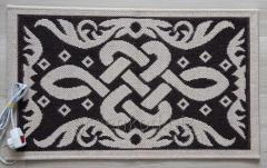 The heating jacquard rug 50*80