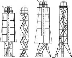 Створные знаки решетчатой конструкции