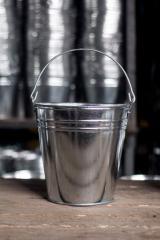 Galvanized bucket 15L