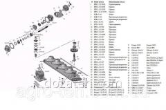 Коробка редуктора косилки КРН-2.1