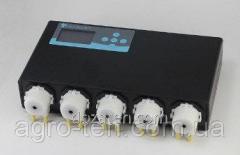 Перистальтический дозирующий насос 5-канальный