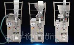 Фасовочный автомат для жидких и пастообразных продуктов