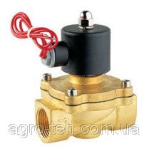 Электромагнитный клапан 1 дюйм нормально-открытый