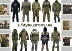 Тактические военные костюмы Горка для охоты,