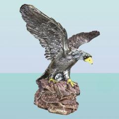 Набивная садовая скульптура Орел