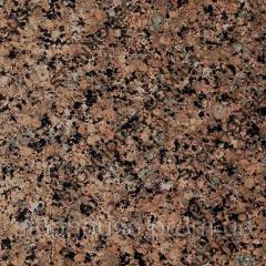 Межерический гранит полированный коричневый 20 мм  1004