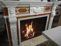 Marble fireplaces, fireplace portals 006