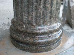 Колонны гранитные из натурального камня 001