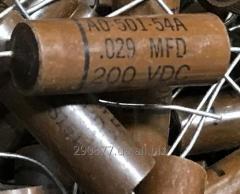 USA 1951 John E Fast 0.029mkf 200B PIO condensers