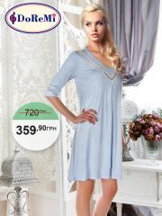002-000211 Doremi Baby Blue Nightgown